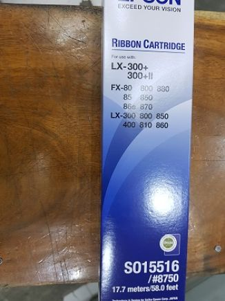 Ribbon Cartridge Epson LX-300 (#8750)<br> 1